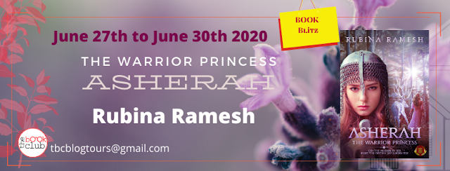 The Warrior Princess Asherah by Rubina Ramesh