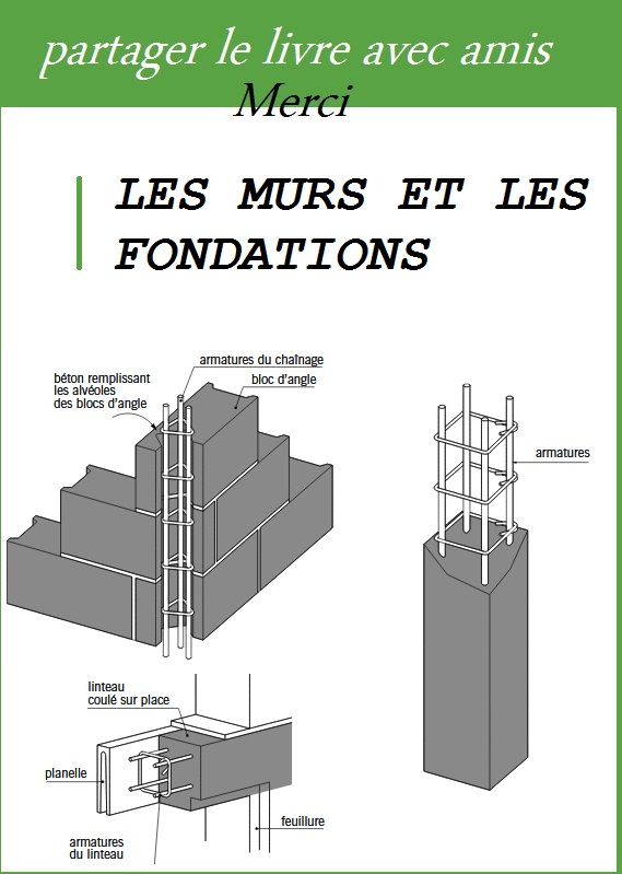 les murs et les fondations pdf book batiment architecture. Black Bedroom Furniture Sets. Home Design Ideas
