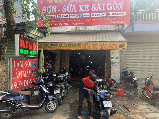 Quy trình sữa chữa xe chuyên nghiệp tại Sửa Xe Sài Gòn