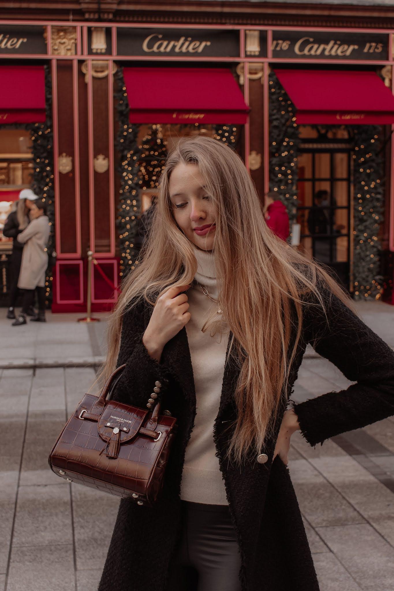 Fairfax & Favor Conker The Mini Windsor Handbag
