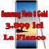 Samsung Note 8 Gold costa 3.899 lei la Flanco - reducere 600 lei