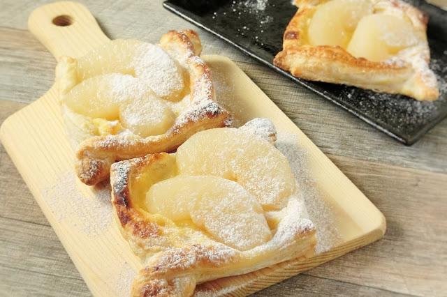 梨のカスタードパイ