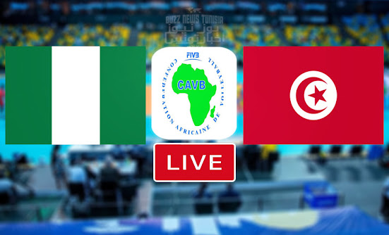 Watch Match Volleyball Tunisia vs Nigeria Live Streaming CAVB- African Nations Championship