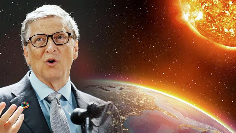 Bill Gates quiere tapar el sol para disminuir con el calentamiento global