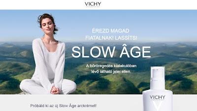 Vichy termékminta