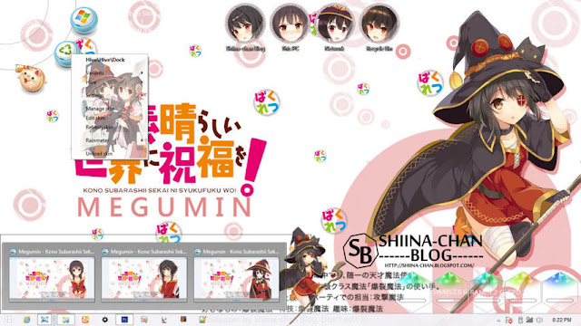 Windows 8/8.1 Theme Megumin - KonoSuba! by Enji Riz