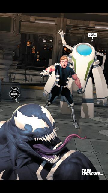 Random Ramblings: Reviews and Whatnot : Venom Space Knight