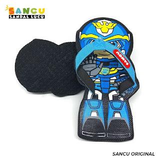 Sandal Lucu Robot Sancu