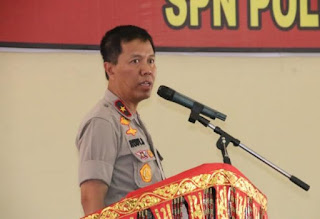 Wakapolda Beri Pembekalan ke Siswa Diktuk Bintara SPN Polda Sumbar