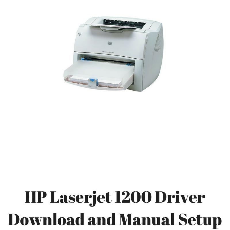 драйвер установки hp laserjet 1200