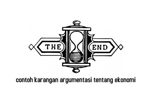 contoh karangan argumentasi