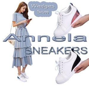 Sepatu Sneakers Wanita Korea Casual