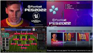 Download eFootball PES 2022 PPSSPP LITE BETA English Version & Peter Drury Commentary