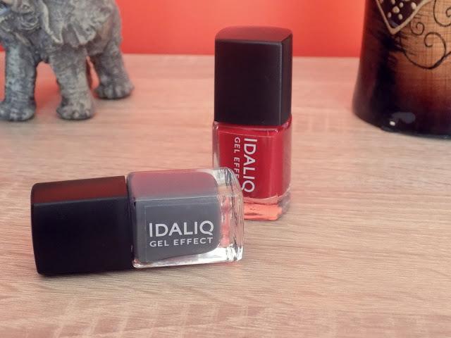 Recenzja lakierów do paznokci w formie żelu IDALIQ
