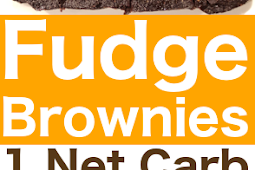 Really Fudgy Keto Brownies Chocolaty, Rich & Only 1 Net Carb