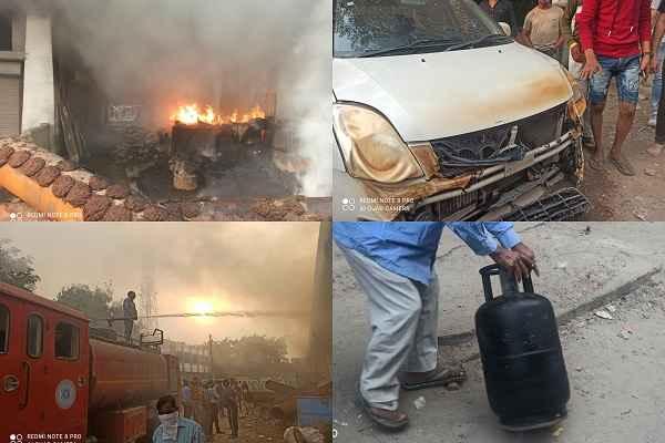 faridabad-neelam-pul-fire-news-video-22-october-2020