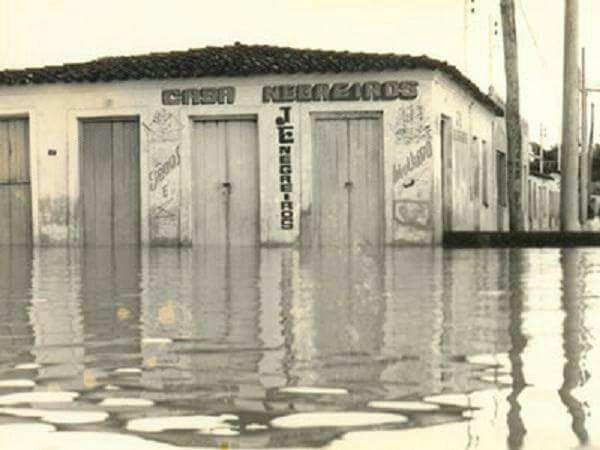 Enchente de 74: 6 bairros destruídos, 5 mil desabrigados em Cuiabá/MT