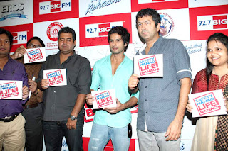 Shahid Kapoor and Kunal Kohli promotes 'Teri Meri Kahaani' at 92.7 BIG FM