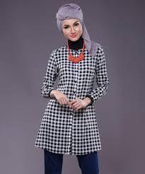 Model Atasan Kemeja Kerja Wanita Muslimah Terbaru