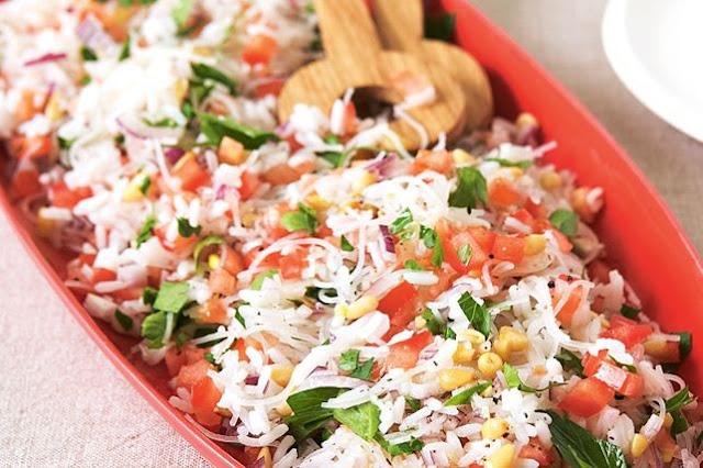 Lebanese rice and noodles