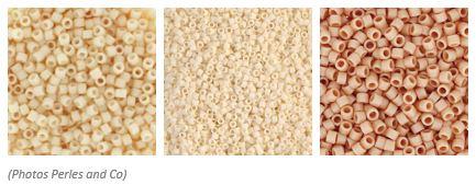 comment associer les couleurs des perles miyuki pour un tissage au metier a tisser