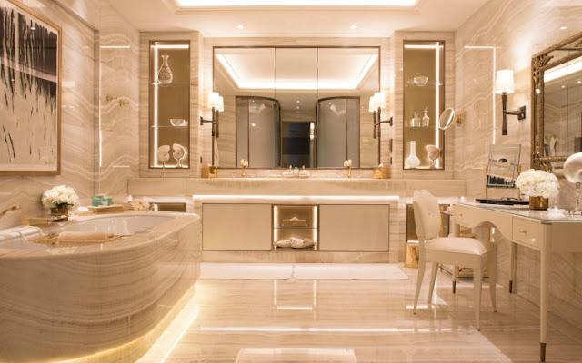 Desain kamar mandi mewah pekanbaru