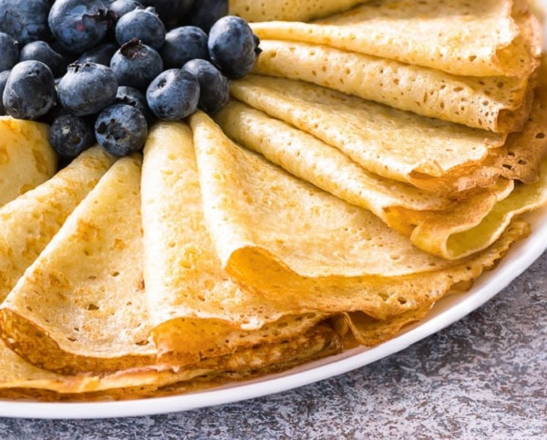 How to make crepes without eggs