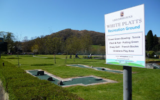 Minigolf at White Platts Recreation Ground in Ambleside