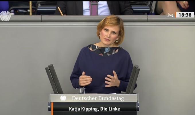 رئيسة حزب اليسار الألماني : بدون دعم من أوروبا لن يكون بوسع النظام المغربي التمادي في إنتهاك حقوق الإنسان والديمقراطية في الصحراء الغربية.