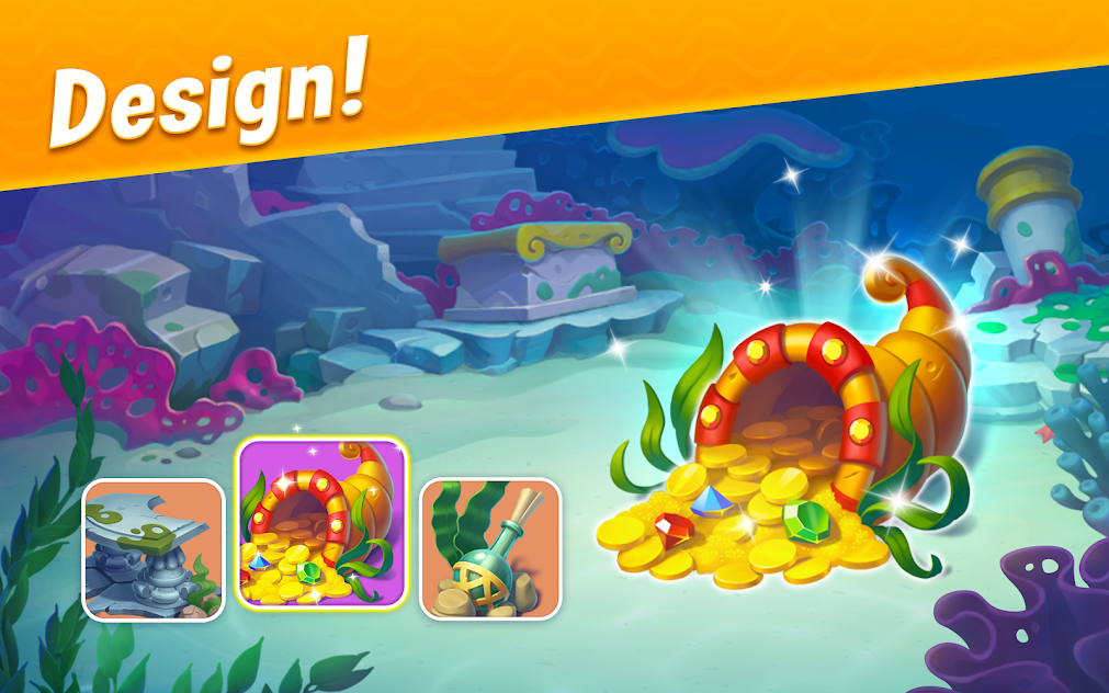 Download Fishdom MOD APK 4.75.0 [Unlimited Money, Coins, Gold]