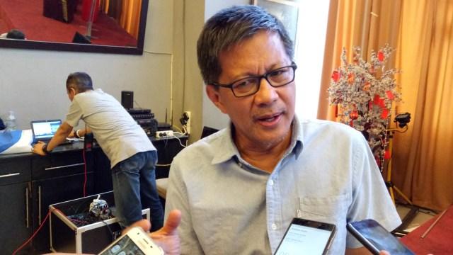 Abdee Slank Jadi Komisaris Telkom, Rocky Gerung: Erick Thohir Gak Peduli Soal Kapasitas, yang Penting Tim Sukses Jadi!
