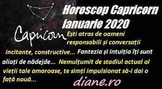Horoscop ianuarie 2020 Capricorn