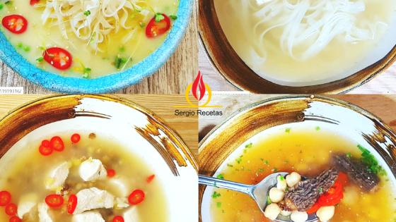 4 sopas deliciosas, fáciles y saludables