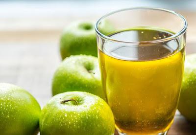Sari jus apel hijau