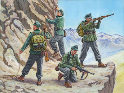 German Gebirgsjäger (German Mountain Troops)