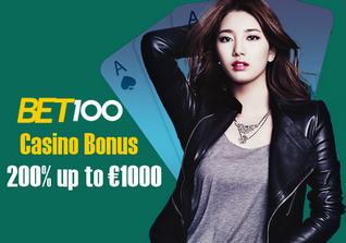 Bet100 no deposit bonus