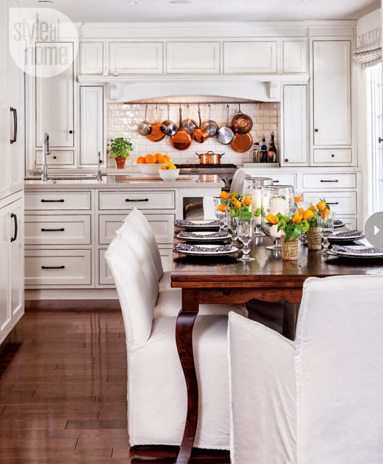Ontario Park Bungalow Blog: Mix And Chic: Home Tour- A Laid-back Cottage-style Home In