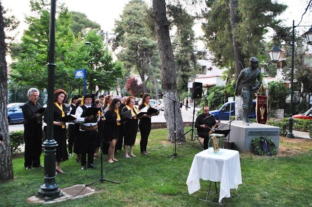 Τίμησαν τη μνήμη των θυμάτων της Γενοκτονίας στην πλατεία Ποντιακού Ελληνισμού, στη Δροσιά