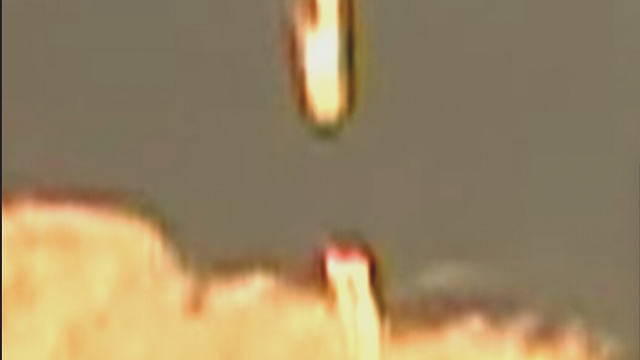 Excellent footage of a double UFO sighting in the cloud over Arizona.
