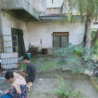 Halaman Belakang Rumah Second - Hadap Timur - Jual Tanah Aja - Lokasi Jl. Perwira Gatot Subroto Medan Sumatera Utara