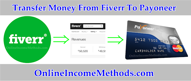 How To Transfer Money From Fiverr To Payoneer Card?