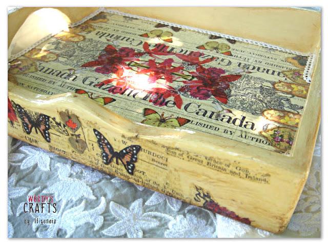 ιστορια του ντεκουπαζ,ξυλινος χειροποιητος δισκος με τεχνικη ντεκουπαζ,ξυλινα χειροποιητα διακοσμητικά με ντεκουπαζ,ντεκουπαζ σε ξυλο