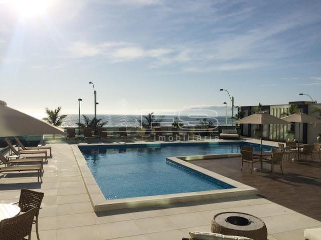V2142 - Apartamento 4 suítes - Alto Padrão - Finamente Mobiliado - Frente Mar - Meia Praia - Itapema/SC