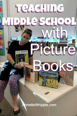 teach picture books in middle school