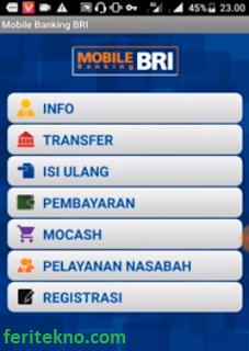 cek mutasi bri lewat mobile banking bri