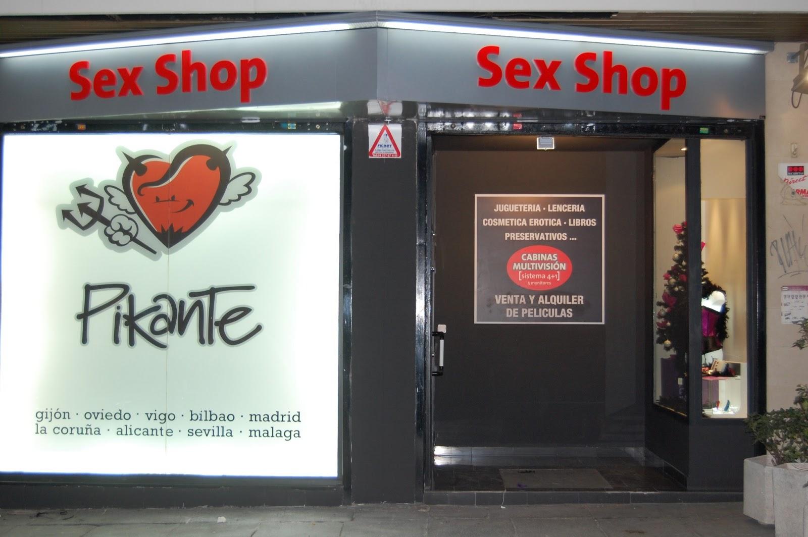 Sex shops gay madrid