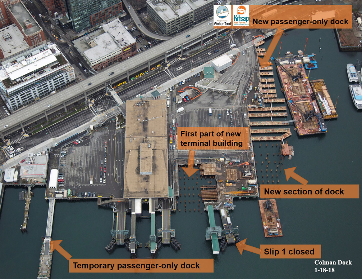 Amazing During The 2017 18 Fish Window, We Installed Steel Piles To Support The  First Part Of The New Main Terminal Building, And The New King County Water  Taxi And ...