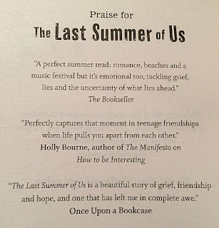 Quote in The Last Summer of Us by Maggie Harcourt