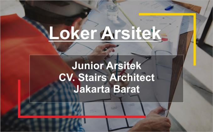 lowongan kerja junior arsitek fresh graduate jakarta