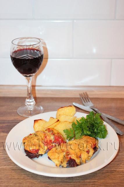 рецепт мяса по-французски с пошаговыми фото